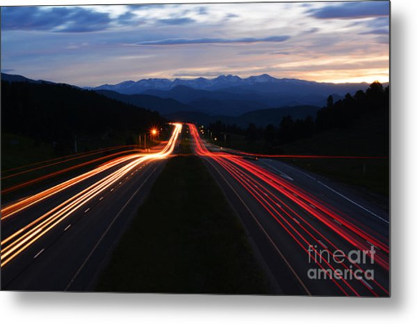 Metal Print featuring the photograph Colorado Drive by Kate Avery