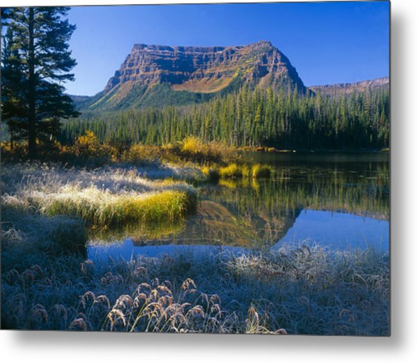 Trapper's Lake Sunrise Metal Print