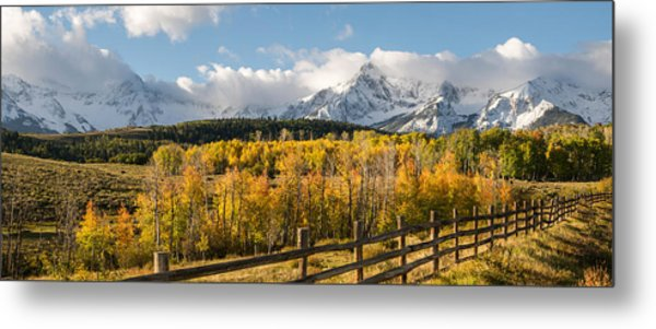 Colorado Gold Panorama Metal Print