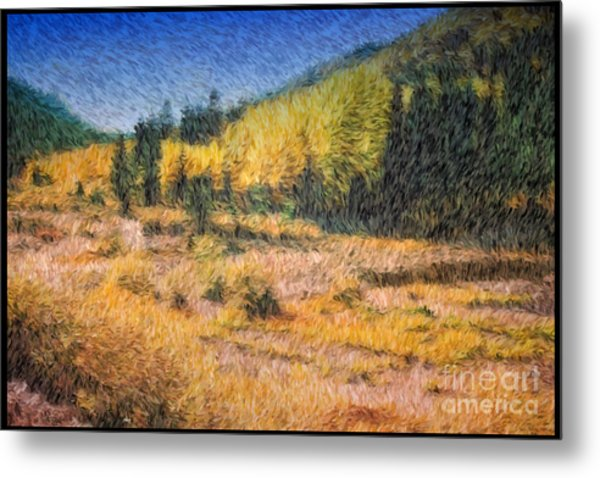 Colorado Golden Autumn Metal Print