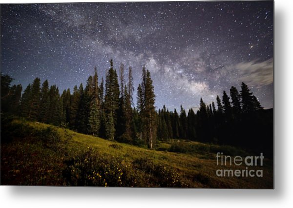 Metal Print featuring the photograph Colorado Milky Way by Brian Spencer