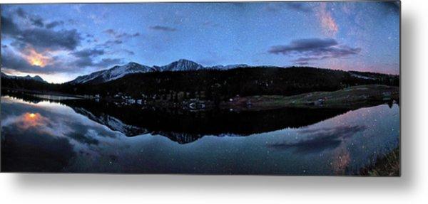 Colorado Moon To Milk Metal Print by Mike Berenson / Colorado Captures