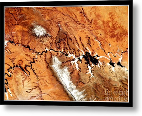 Colorado Plateau Nasa Metal Print