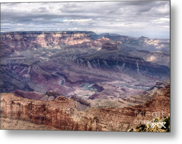 Colorado River At Grand Canyon Metal Print