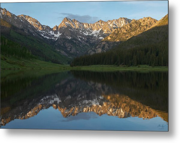 Colorado Sunset - Piney Lake Metal Print
