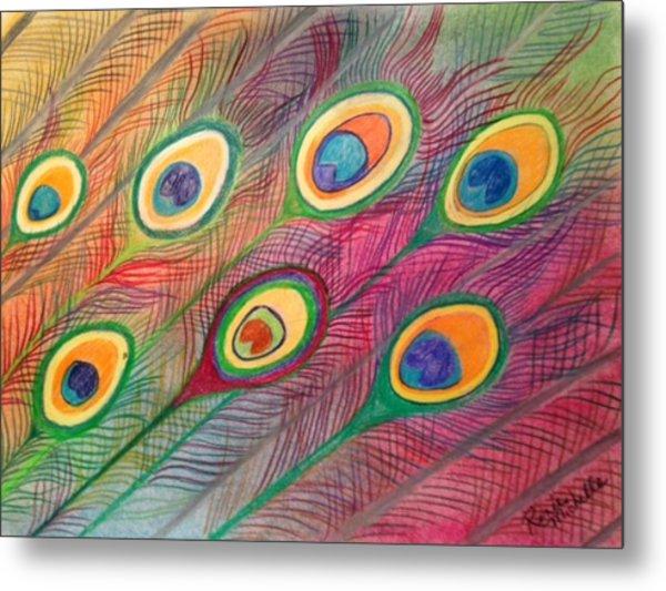 Colorful Delusions Metal Print