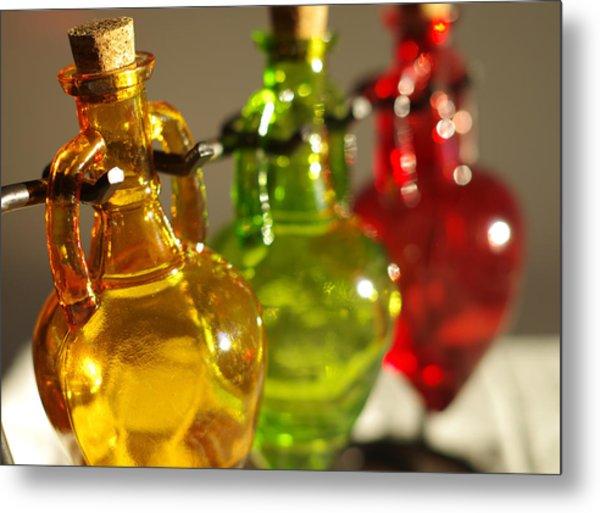 Colorful Glass Metal Print