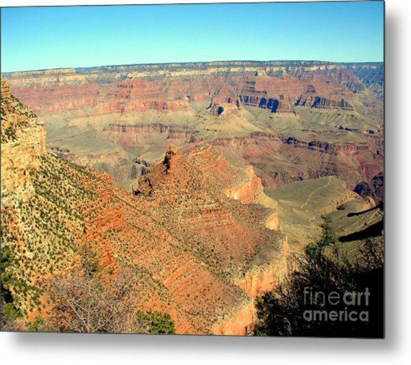 Colorful Grand Canyon Metal Print by John Potts