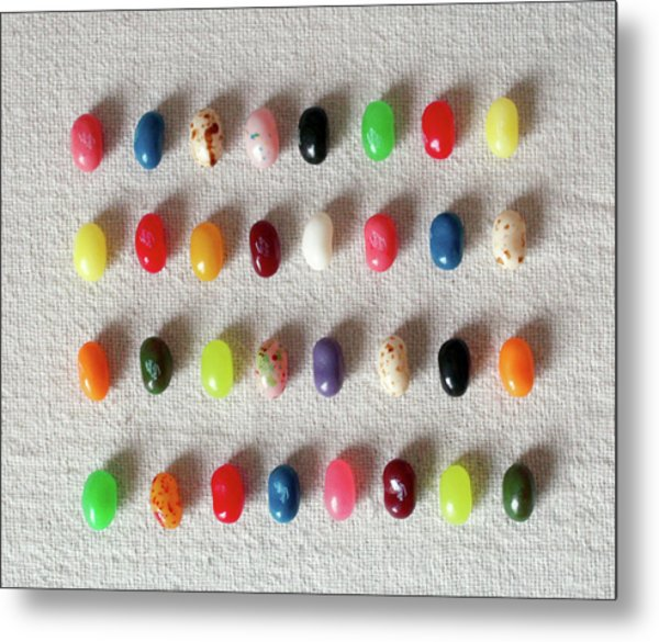 Colorful Jelly Metal Print by W-anshu