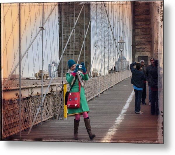 Colorful Photographer Carnival  Metal Print