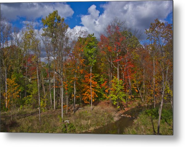 Colorful Ravine A Wider Angle Metal Print