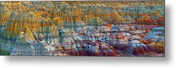 Colorful Rocks Metal Print by Hua Zhu