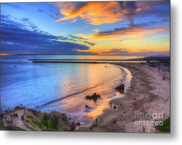 Colorful Sky At Inspiration Point Metal Print