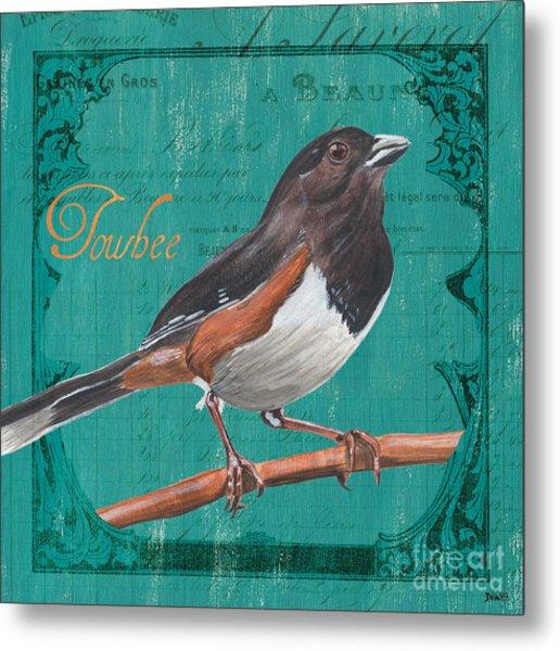 Colorful Songbirds 3 Metal Print