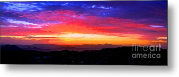 Colorific Sunset Metal Print