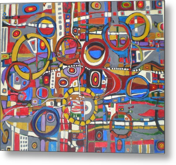 Coloroso # 18--sold Metal Print