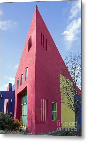 Colors And Angles Metal Print by Steven Parker