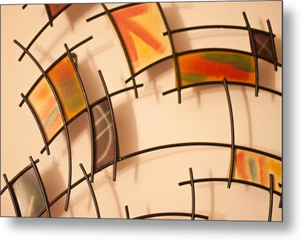 Colors And Shadows Metal Print by Richie Stewart