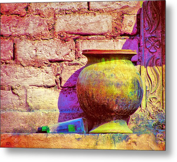 Colors And The Sun Metal Print