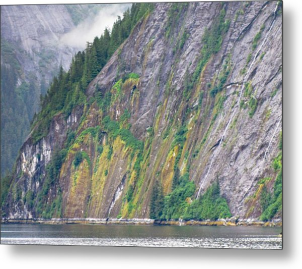 Colors Of Alaska - Misty Fjords Metal Print