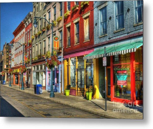 Colors Of Cincinnati Metal Print