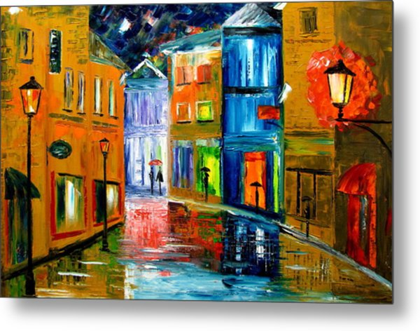Colors Of The Night Metal Print by Mariana Stauffer