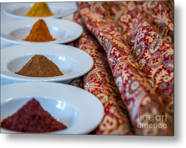 Colors Of The Orient - By Sabine Edrissi Metal Print