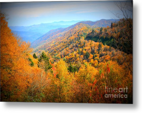 Colors Of The Smokies Metal Print