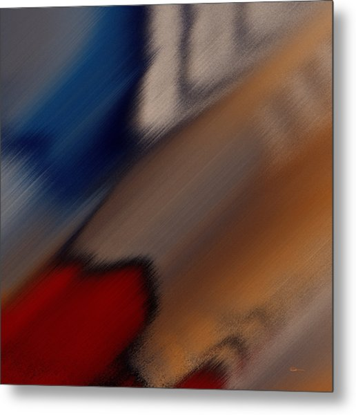 Colors Plural Metal Print