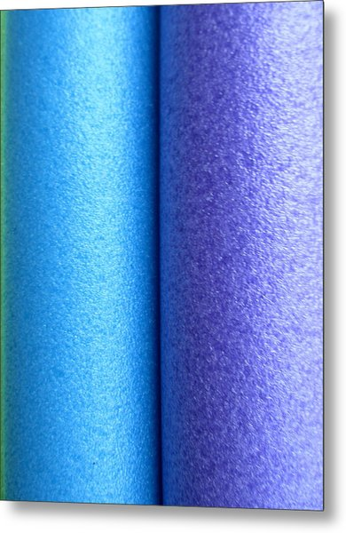 Colorscape Tubes C Metal Print