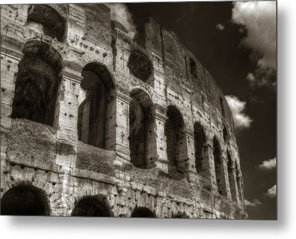 Colosseum Wall Metal Print