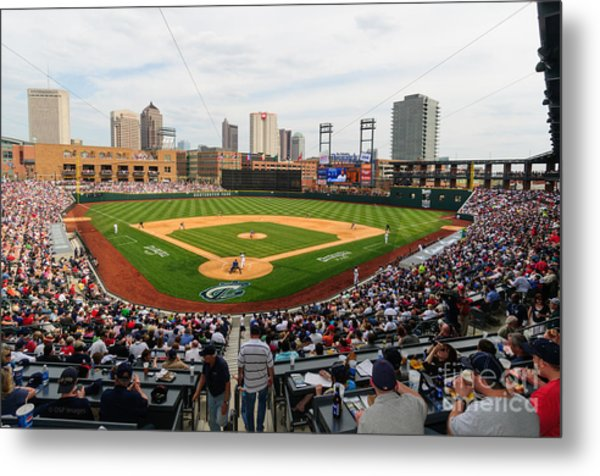 D24w-295 Columbus Clippers Photo Metal Print