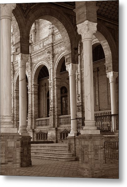 Columns And Arches Metal Print