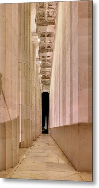 Columns And Monuments Metal Print