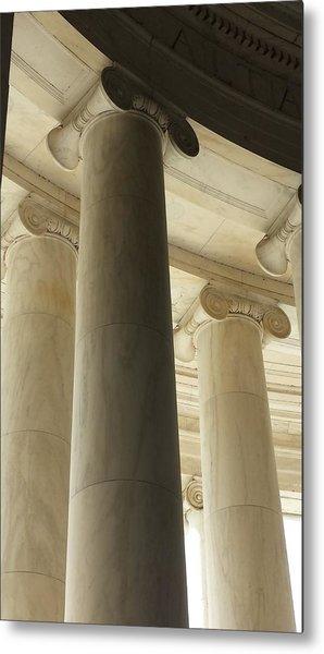 Columns Stand Guard Metal Print
