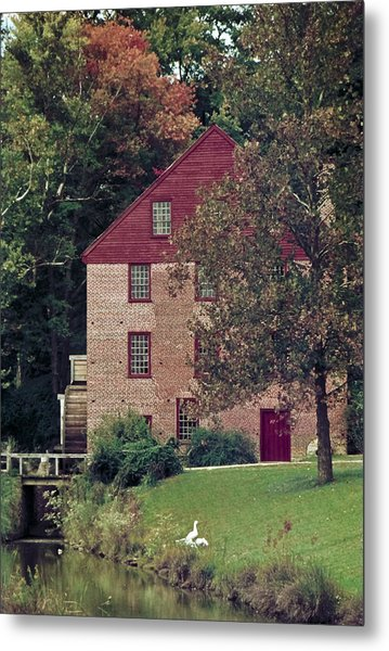 Colvin Run Mill Metal Print