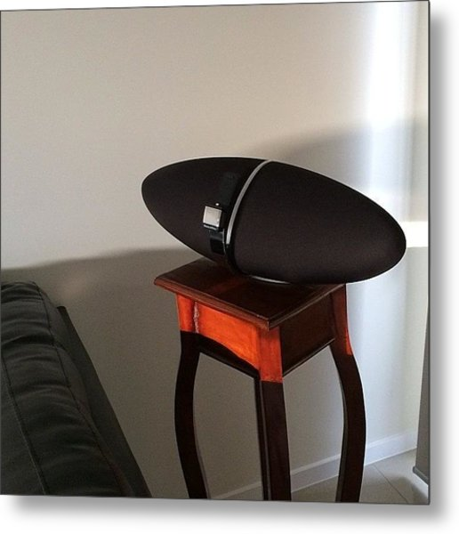 Combining Technology & Furniture Metal Print