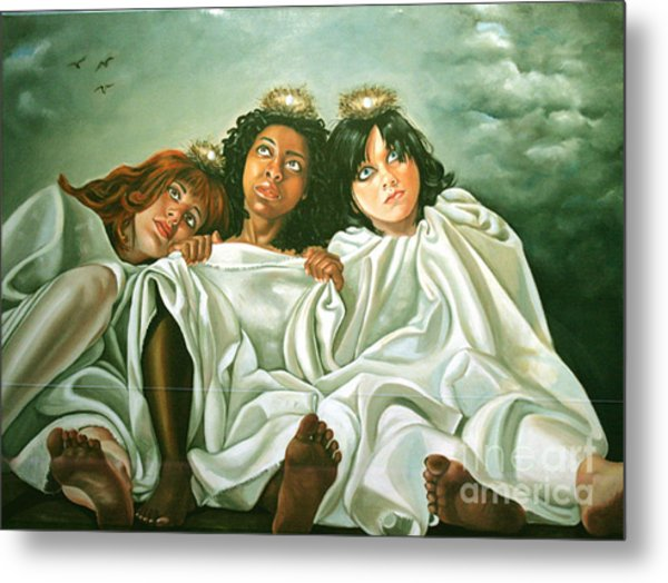 Come Back Home Metal Print by Shelley Laffal