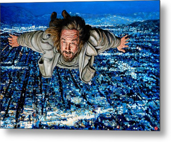 Metal Print featuring the painting Come Fly With Me by Tom Roderick