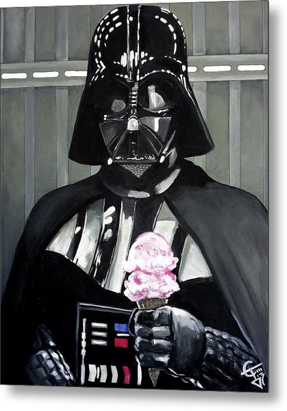 Come To The Dark Side... We Have Ice Cream. Metal Print