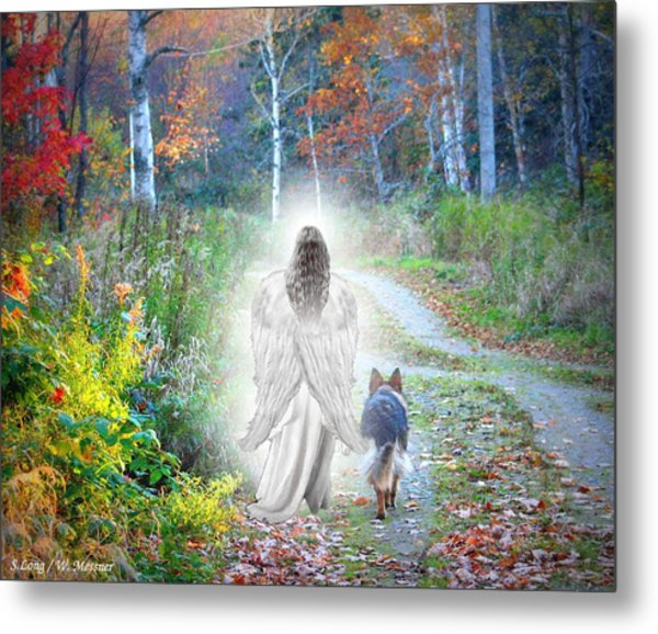 Come Walk With Me Metal Print