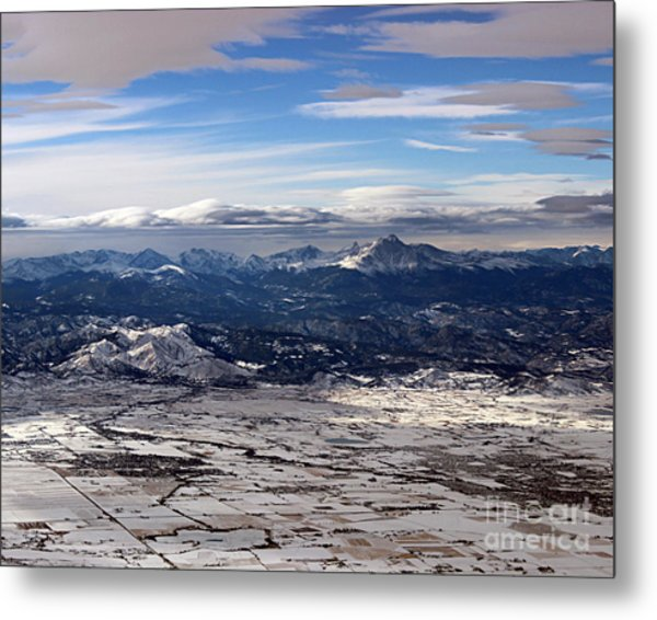 Coming Home To Colorado Springs Metal Print