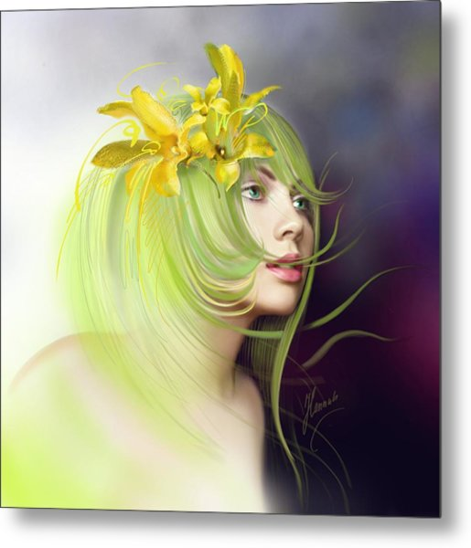 Coming Of Spring Metal Print
