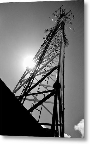 Comm Tower Metal Print