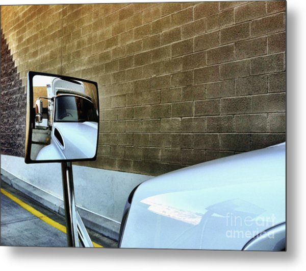 Commercial Truck Metal Print