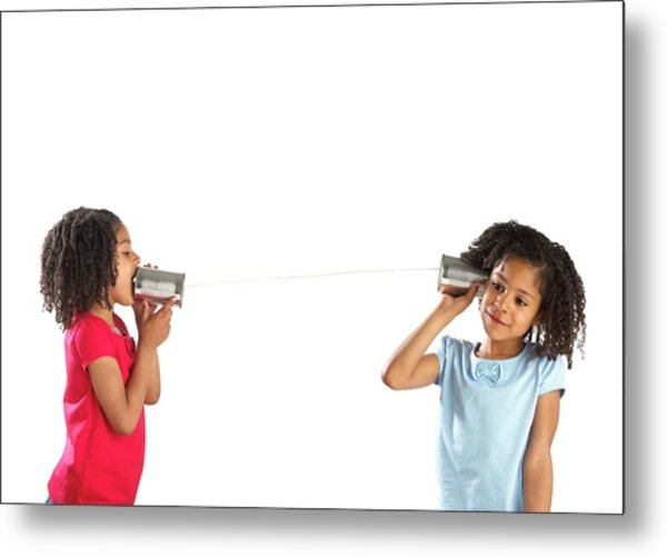 Communication Metal Print by Science Photo Library
