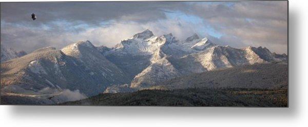 Como Peaks Montana Metal Print