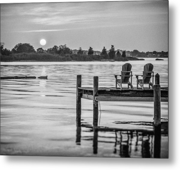Company At Sunset Metal Print by Steve Stanger