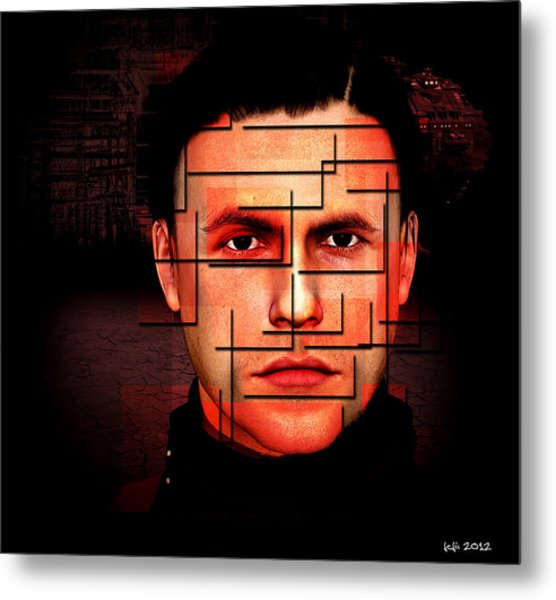 Complicated Sean Metal Print