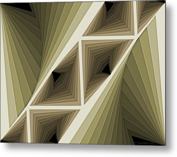 Composition 132 Metal Print